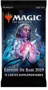 1 BOOSTER DE 15 CARTES SUPPLEMENTAIRES EDITION DE BASE 2019 DE MAGIC THE GATHERING