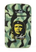 BRIQUET TEMPETE EASY TORCH 8 RECHARGEABLE FINITION GOMME CAMOUFLAGE VERT COLLECTION CHE GUEVARA