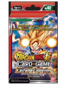 DRAGON BALL SUPER CARD GAME - DECK DE DEMARRAGE THE EXTREME EVOLUTION - SD02