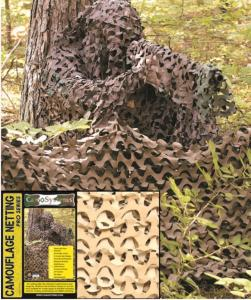 FILET DE CAMOUFLAGE CAMO SYSTEMS DESERT 3M X 2.4 M ANTI-FEU
