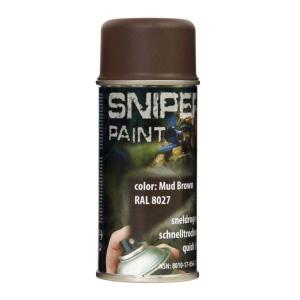 BOMBE DE PEINTURE MILITAIRE SPRAY FOSCO 150 ML MUD BROWN