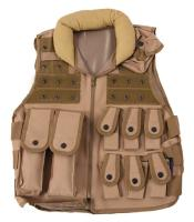 GILET VESTE TACTIQUE POLICE SWAT DELTA TACTICS TAN MODULABLE ET PERSONNALISABLE