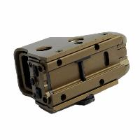 VISEE POINT ROUGE ET VERT METAL HOLOSIGHT 551 TAN