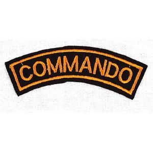 ECUSSON / PATCH COMMANDO A COUDRE