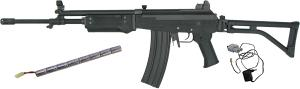 RÉPLIQUE GALIL AR AEG KING ARMS 1 JOULE FULL METAL + CHARGEUR + BATTERIE