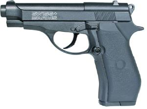REPLIQUE P84 METAL NOIR SWISS ARMS CO2 SEMI AUTO CAL 4.5 MM 2 JOULES