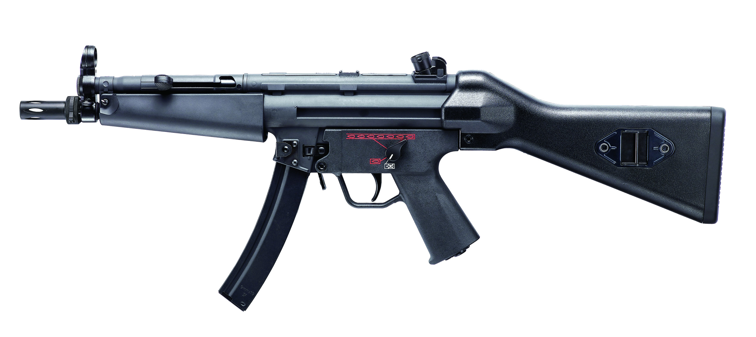 MP5 EGM A4 STD G&G BLOWBACK AEG SEMI ET FULL AUTO 1.2 JOULE SANS BAT NI CHARG