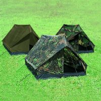 "TENTE "" MINI PACK SUPER "" ETANCHE 2 PLACES CAMOUFLAGE FLECKTARN"