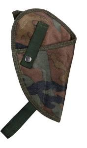 HOLSTER D EPAULE POUR DROITIER CAMOUFLAGE WOODLAND