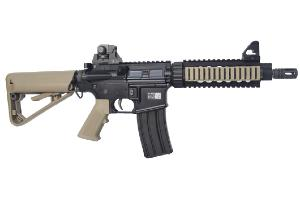 FUSIL D'ASSAUT B4 PMC SOPMOD BOLT AEG TAN NOIR BLOWBACK SEMI ET FULL AUTO 1.04 JOULE AVEC BATTERIE