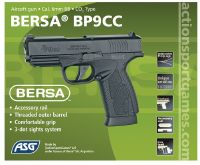 BERSA BP9CC CO2 BLOWBACK HOP UP RAIL 1.5 JOULE