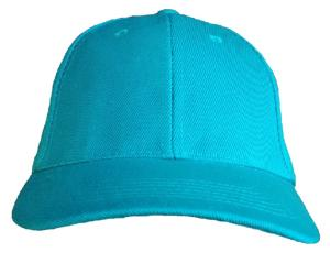 CASQUETTE BASEBALL UNIE TURQUOISE