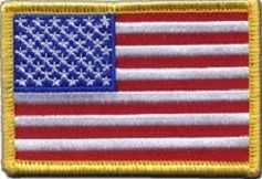ECUSSON / PATCH DRAPEAU US UNITED STATES THERMO COLLANT