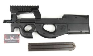 FN HERSTAL P90 TACTICAL AEG SEMI ET FULL AUTO HOP UP 1.4 JOULE SANS BATTERIE