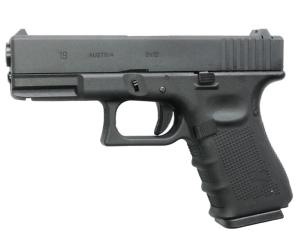 G19 G 19 GEN 4 WE GAZ BLOWBACK GBB CULASSE MOBILE NOIR 0.83 JOULE