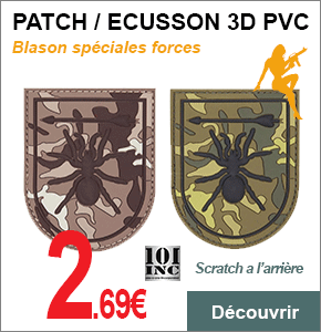PATCH ECUSSON FORCE 3D