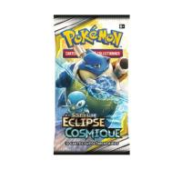 PAQUET DE 10 CARTES BOOSTER SUPPLEMENTAIRES POKEMON SOLEIL ET LUNE SL12 ECLIPSE COSMIQUE