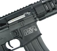 REPLIQUE M&P 15 T RIFLE SMITH ET WESSON AEG FULL METAL NOIRE RIS 1.1 JOULE SANS BATTERIE NI CHARGEUR