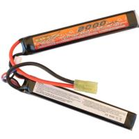 BATTERIE LIPO 7.4V 2000 MAH 15C/BURST 30C 2 STICKS VB POWER