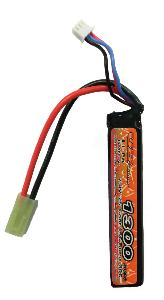 BATTERIE LIPO 7.4V 1300 MAH 15C/BURST 30C 1 STICK VB POWER
