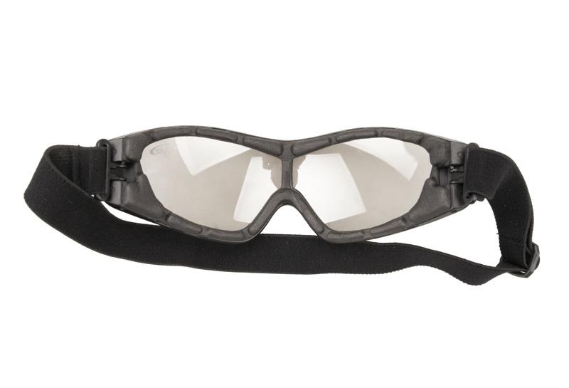 masque lunette de protection fl8013 ecran jaune orange. Black Bedroom Furniture Sets. Home Design Ideas