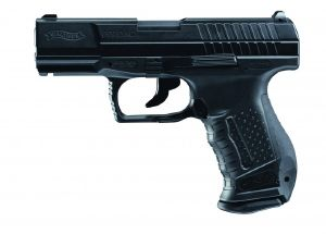 P99 WALTHER DAO NOIR CO2 UMAREX METAL BLOW BACK GBB 2 JOULES