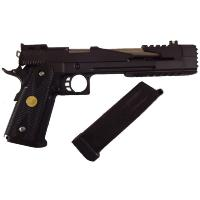 HI CAPA BLACK DRAGON 7.0 TYPE B FULL METAL GAZ BLOWBACK HOP UP RAIL 1 JOULE