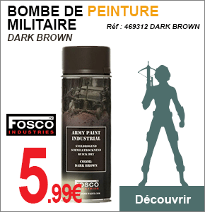 Bombe Militaire Dark Brown