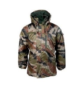PARKA COUPE VENT IMPERMEABLE HOMME CAMOUFLAGE CENTRE EUROPE A CAPUCHE AMOVIBLE TAILLE XXL