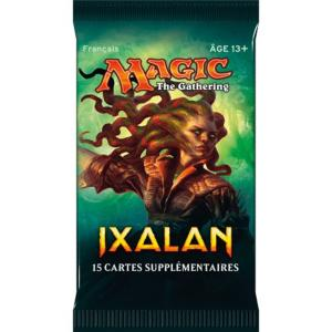 1 BOOSTER DE 15 CARTES SUPPLEMENTAIRES IXALAN DE MAGIC THE GATHERING